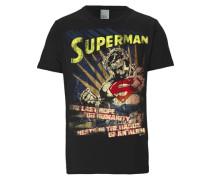 "T-Shirt ""Superman"" schwarz"