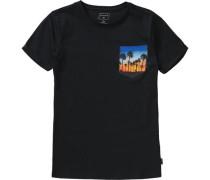T-Shirt Quadro für Jungen schwarz