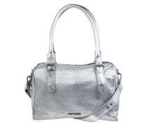 Handtasche 'Blossom Metallic' silber