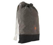 Rucksack rostbraun / grau / schwarz