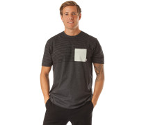 Shirt 'Felton' schwarz / weiß / dunkelgrau
