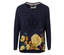 Pullover blau / gelb