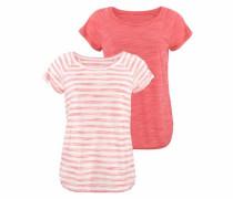T-Shirts (2 Stück) pastellpink
