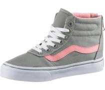 Sneaker 'Maddie Hi Zip' grau / rosa / weiß