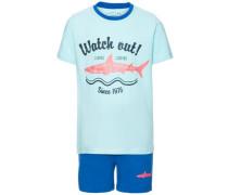 Shorts-Set 'Zacco' blau / azur