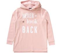 Kapuzenpullover für Mädchen rosa