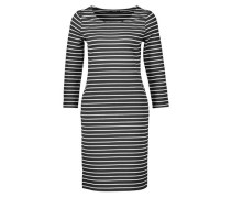 Jerseykleid 'Weda' dunkelblau / weiß