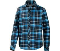 Henderson Langarmhemd Herren blau / schwarz