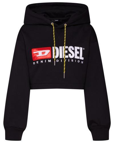 Sweatshirt 'f-Dinie-A' schwarz / weiß