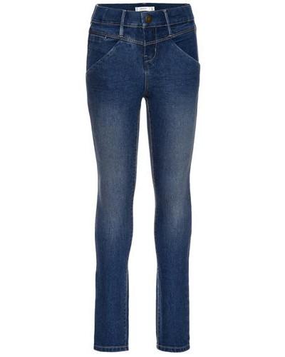 Skinny Fit Jeans nitada blau