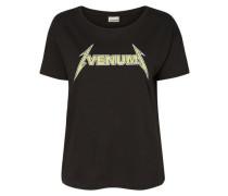 T-Shirt Bedruckt schwarz