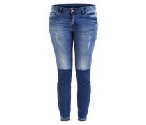 Vicrush - 7/8-Jeans blau