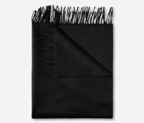 Woll-Schal 'Frame' schwarz