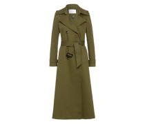 Mantel Vintage Maxi Coat oliv