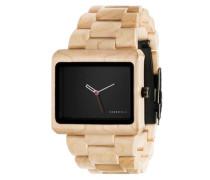 Uhr 'Reineke Maple' beige / schwarz