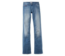 Bootcut-Jeans 'Sandy' blue denim