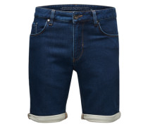 Jeansshort 'Samden' blau