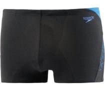 Kastenbadehose 'Boom Splice Aquashort' hellblau / schwarz