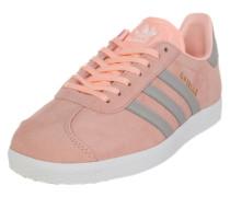 Sneaker 'Gazelle' gold / grau / rosa / weiß
