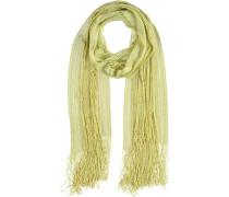 Viskose-Lurex-Schal gelb / apfel