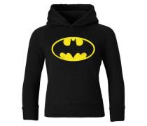 Kapuzen-Sweatshirt 'Batman' schwarz