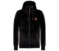 Male Zipped Jacket Birol Mack schwarz