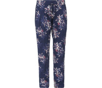 Schlafhose 'Hanami Love Sleep' blau
