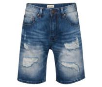 Shorts 'East End Av.' blau
