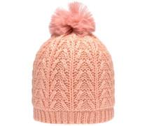 'nitmaluki' gestrickter Hut apricot / pink