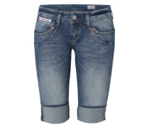 'Piper' Short blue denim