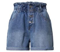 Jeans-Shorts 'mid stone'
