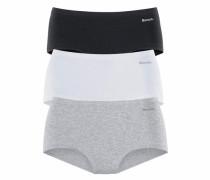 Panty (3 Stück) grau / schwarz / weiß