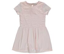 Nitpedra kurzärmliges Kleid pink