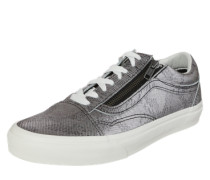 Sneaker 'Old Skool Zip' silber