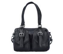Handtasche 'Lilli Nappa' schwarz