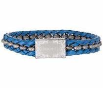 Armband 'orlando Pj26053Blu.02-L' blau / silber