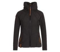 Female Jacket 'Klatschen Und So' schwarz