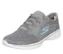 Sneaker Low 'Go Walk 4 Exceed' grau / weiß