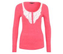 Shirt 'new RIB N Lace' pink
