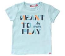 Baby T-Shirt für Jungen hellblau / dunkelblau / orange