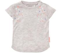 T-shirt 'Friendly' graumeliert