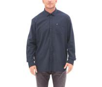 Regular: Oxfordhemd mit Waschung blau