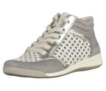 Sneaker beige / grau / weiß