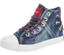 Kinder Sneakers blau / rot