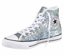 Sneaker »Chuck Taylor All Star Holiday Party« silber
