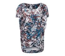 Oversized Shirt mischfarben