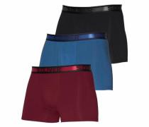 Boxershorts 3er Pack blau / rot / schwarz