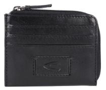 Kreditkartenetui 'Panama' Leder 10 cm schwarz