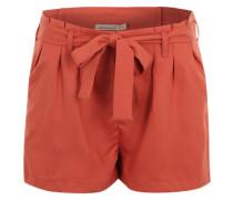 Shorts mit Bindegürtel 'Mathilda' orange