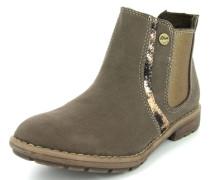 Chelsea Boots beige / grau